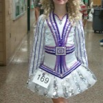 1 year old Gavin Doherty dress - made for 2011 Oireachtas